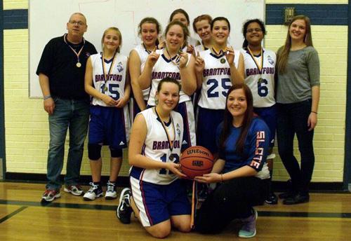 BRIERS MAJOR BANTAM GIRLS WIN GOLD IN HUNTSVILLE