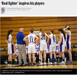 """Real Fighter"" inspires his players - Paul Byrne"
